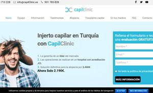 Capilclinic trasplante capilar en Turquía