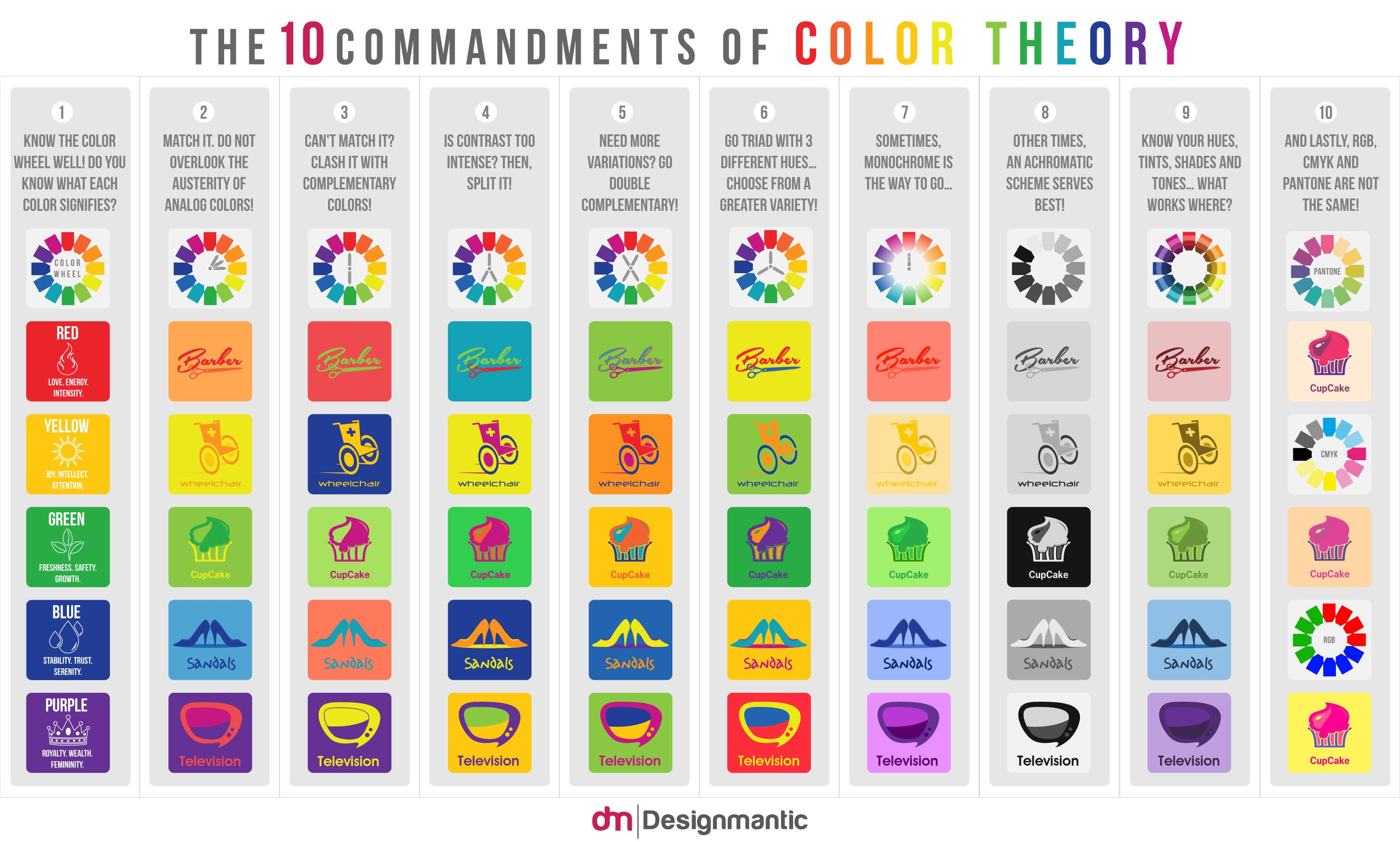 Conoce los colores